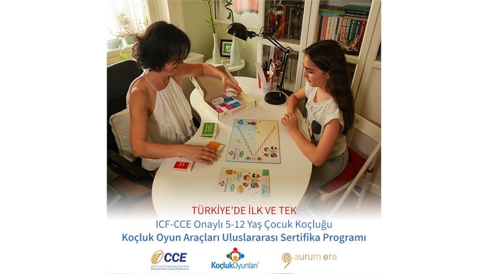 ICF-CCE Onaylı 5-12 Yaş Çocuk Koçluğu Koçluk Oyun Araçları Eğitmenliği Uluslararası Sertifika Programı