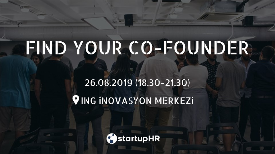 Find Your Co-Founder #6 - StartupHR