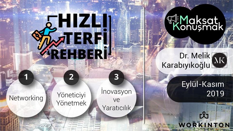 """MAKSAT KONUŞMAK """"HIZLI TERFİ REHBERİ"""""""
