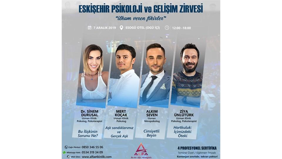 ESKİŞEHİR PSİKOLOJİ ve GELİŞİM ZİRVESİ / 7 ARALIK