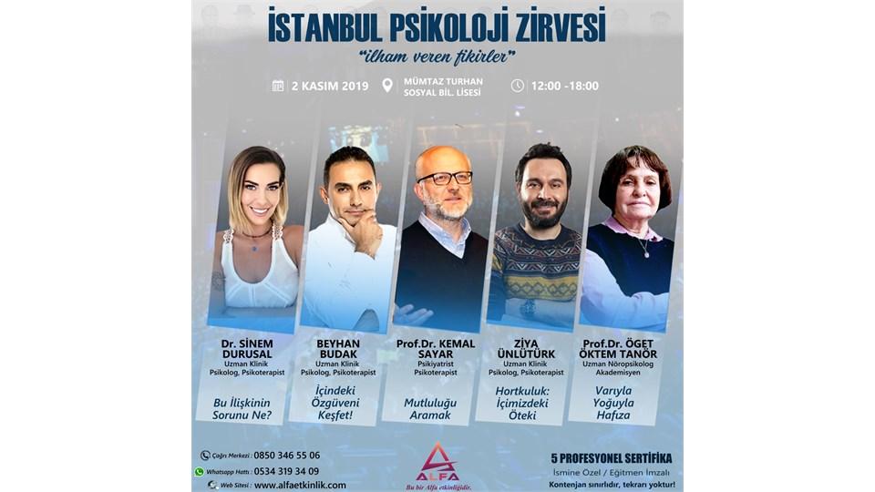 İSTANBUL PSİKOLOJİ ZİRVESİ / 2 KASIM