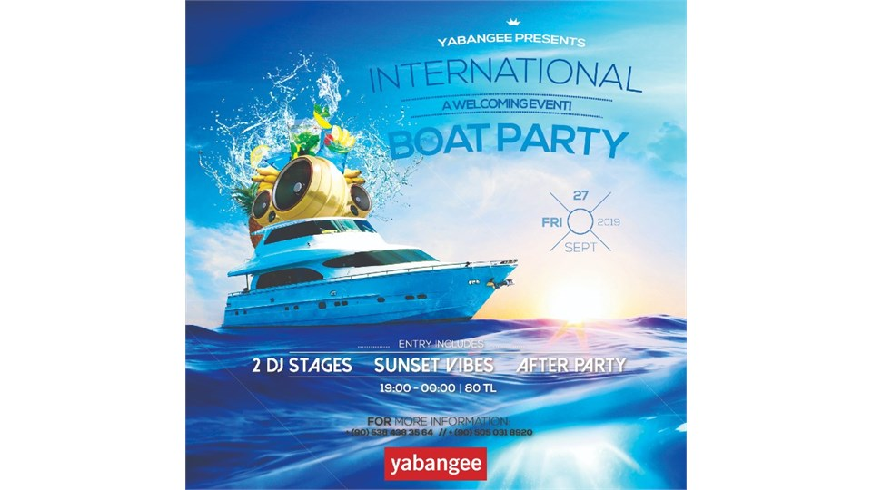 International Boat Party: A Welcoming Event!