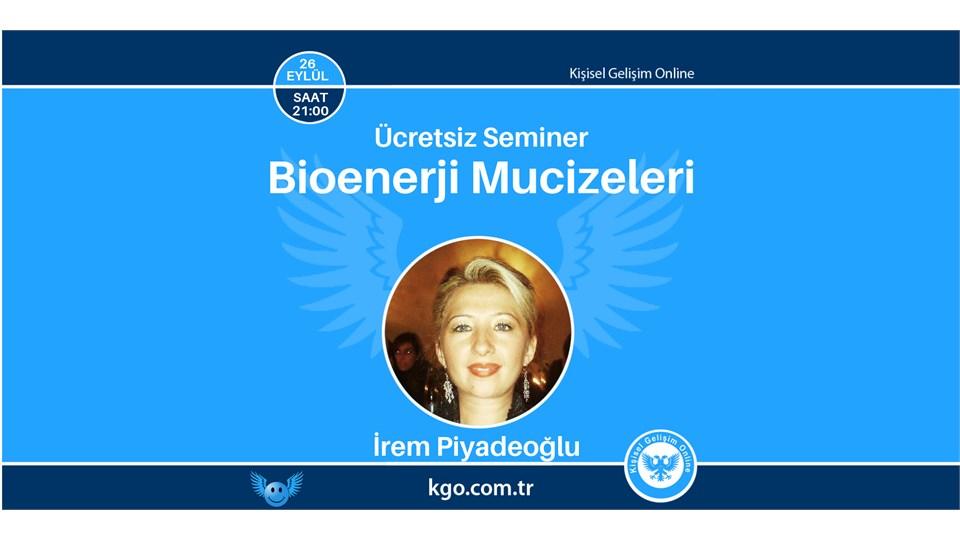Bioenerji Mucizeleri Semineri