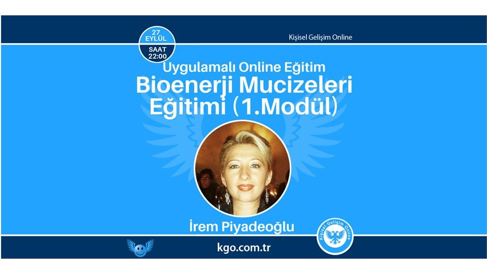 Bioenerji Mucizeleri Eğitimi (1.Modül)