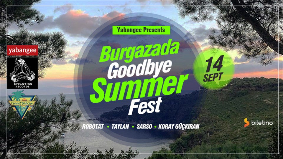 Burgazada Goodbye Summer Fest