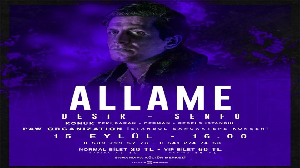 Allame İstanbul / Samandıra Konseri!