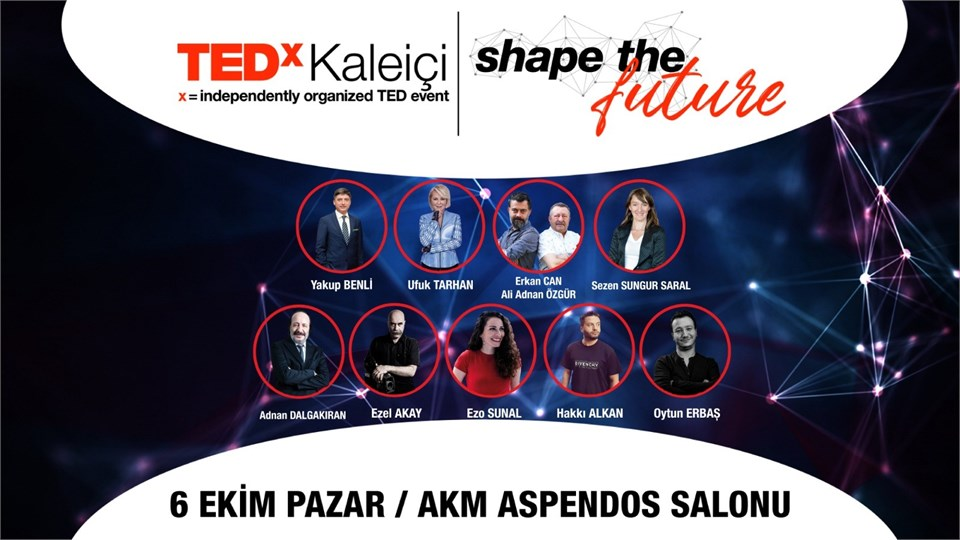 "TEDxKaleiçi - ""Shape The Future"""