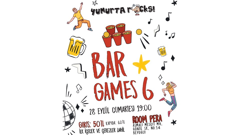 """Bar Games 6"" by YumurtaRocks"