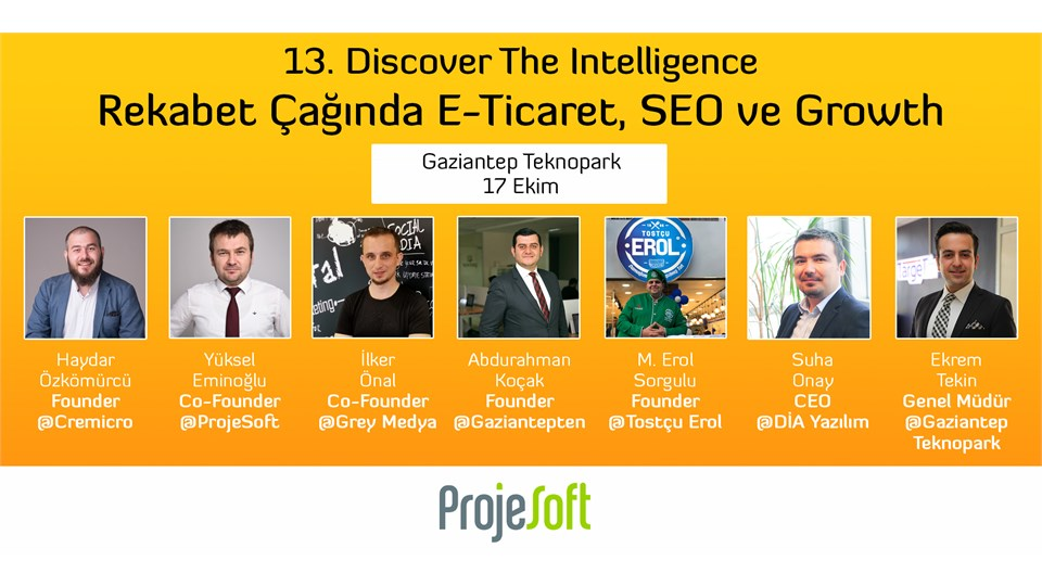 13.Discover The Intelligence Rekabet Çağında E-Ticaret, SEO ve Growth