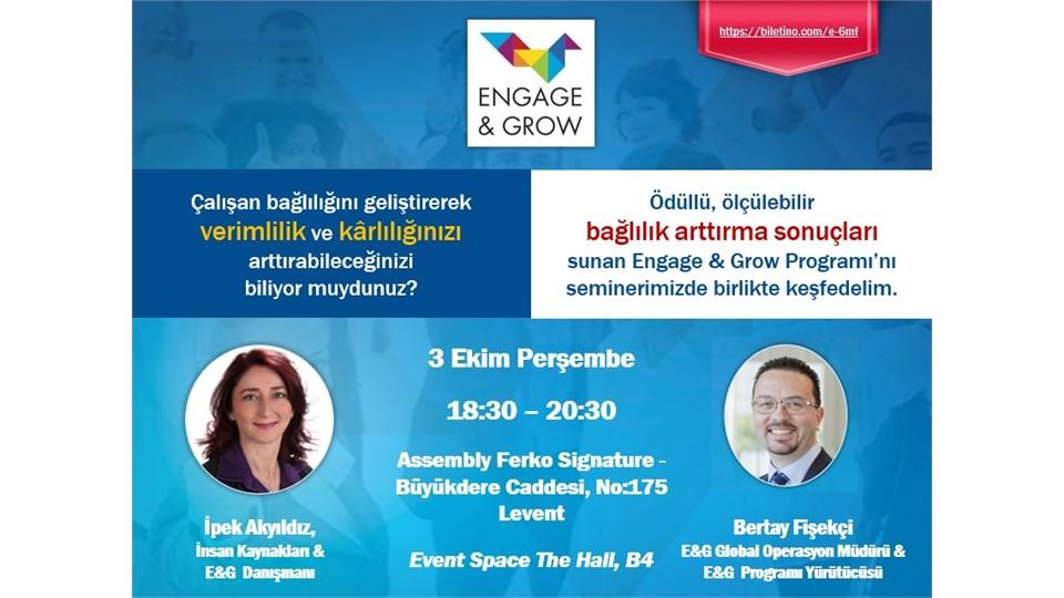 Çalışan Bağlılığı Programı (Engage&Grow) Semineri