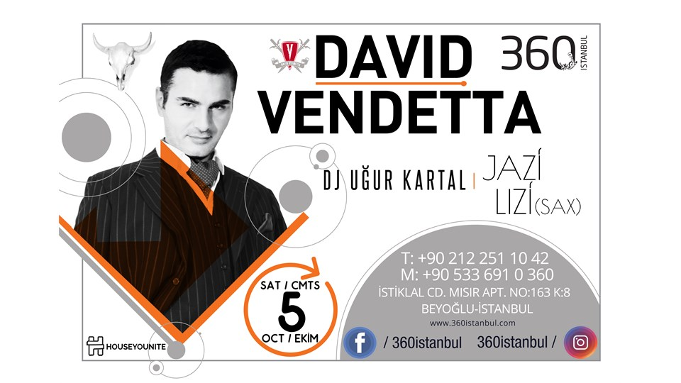 DAVID VENDETTA @ Back to 360 House Vol.1