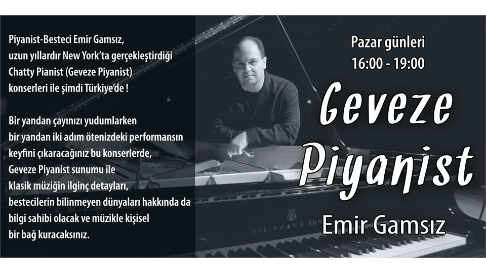 Geveze Piyanist - Klasik Asiler