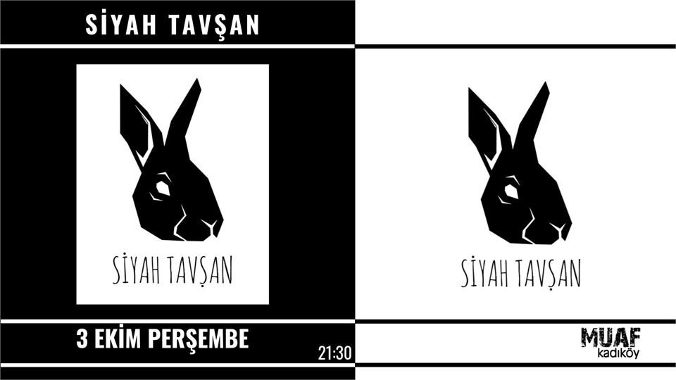 Siyah Tavşan Muaf Kadıköy Sahnesinde