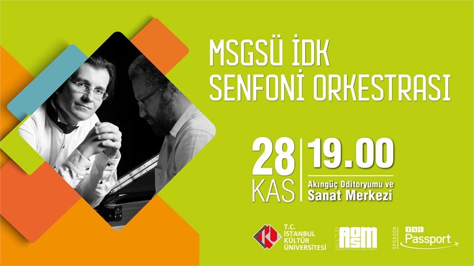 Mimar Sinan Güzel Sanatlar Üniversitesi İstanbul Devlet Konservatuarı Senfoni Orkestrası