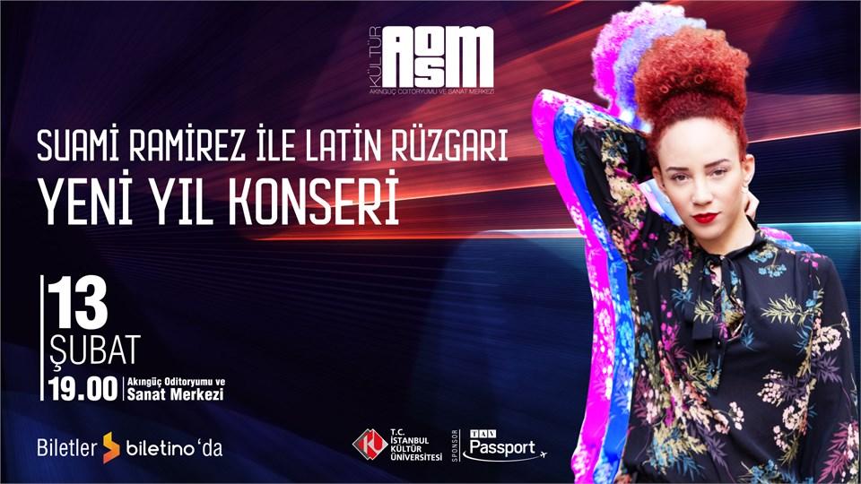 Suami Ramirez ile Latin Rüyası - Yeni Yıl Konseri