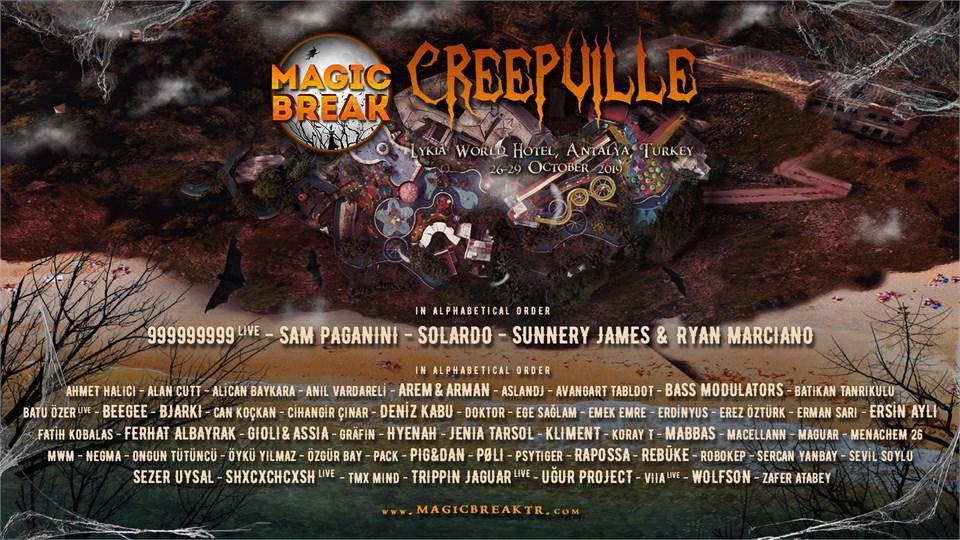 Magic Break CREEPVILLE