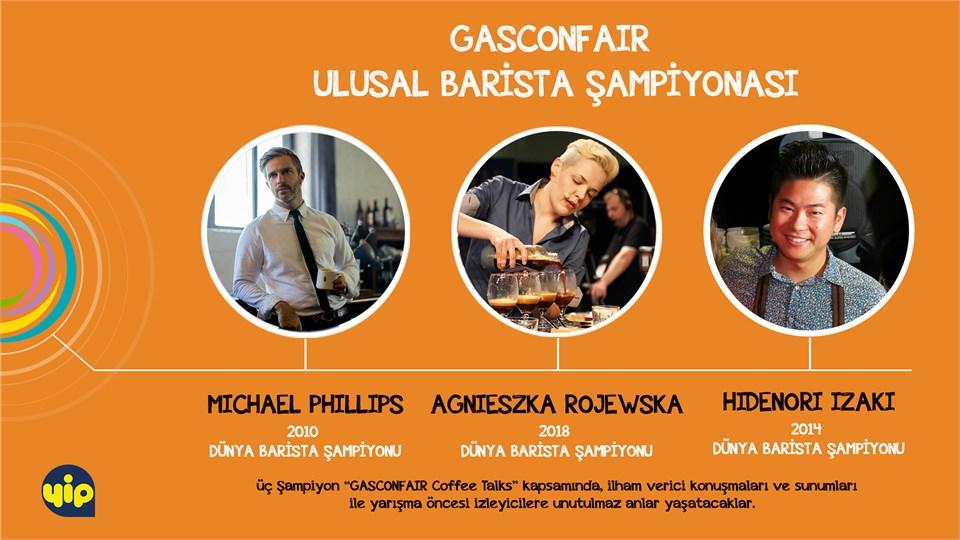 GASCONFAIR Ulusal Barista Şampiyonası