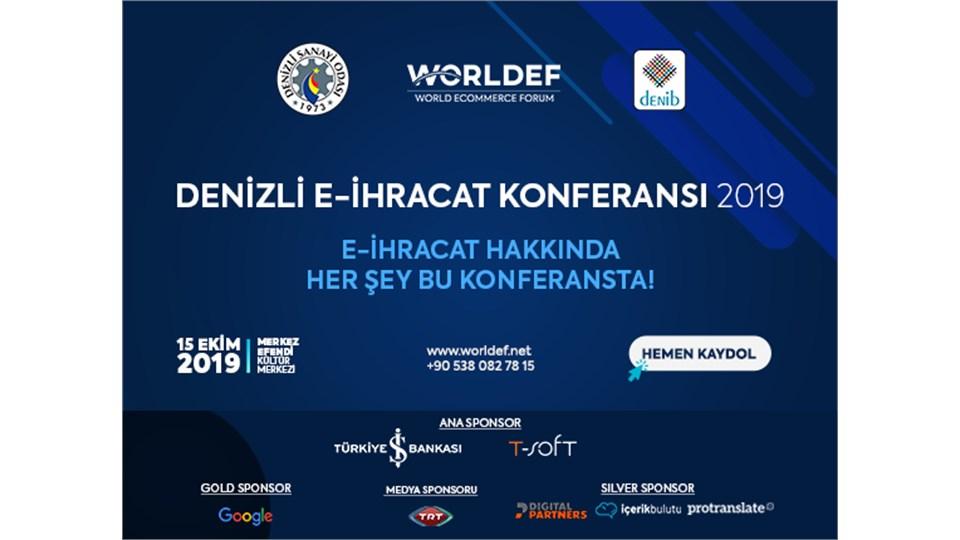 Denizli E-İhracat Konferansı 2019