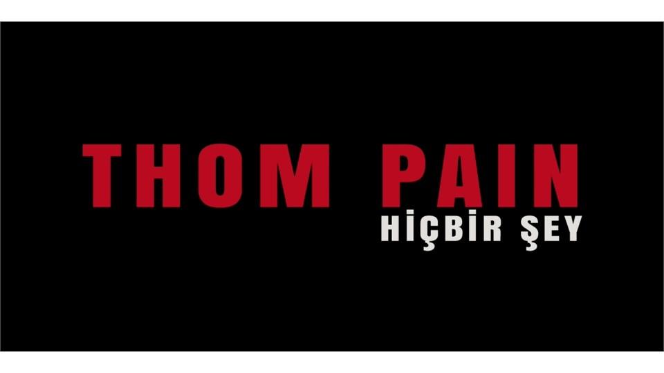 Thom Pain / Bolu
