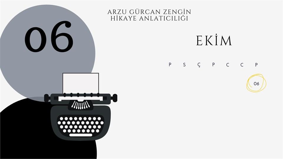 Arzu Gürcan Zengin ile Hikaye Anlatıcılığı