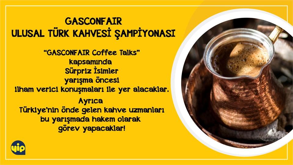 GASCONFAIR Ulusal Türk Kahvesi Şampiyonası