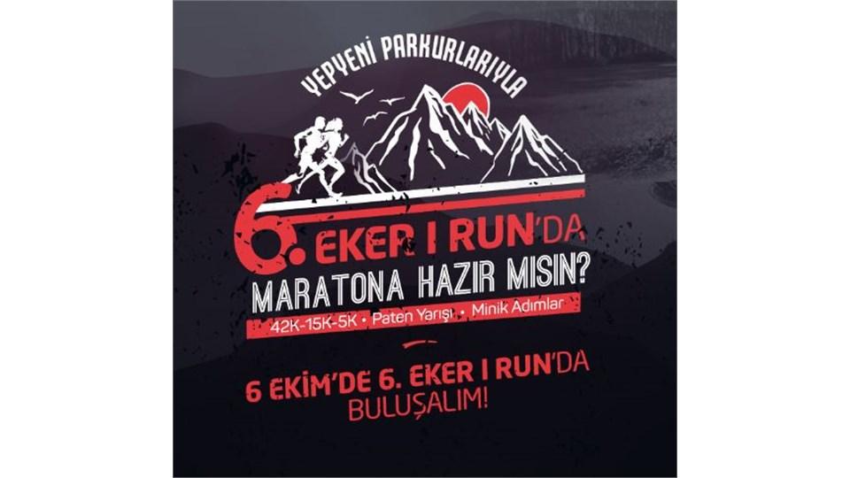 Eker I Run 42K Maratonu Start Noktası Servisleri