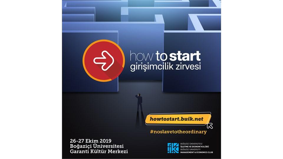 Boğaziçi Üniversitesi How to Start Girişimcilik Zirvesi