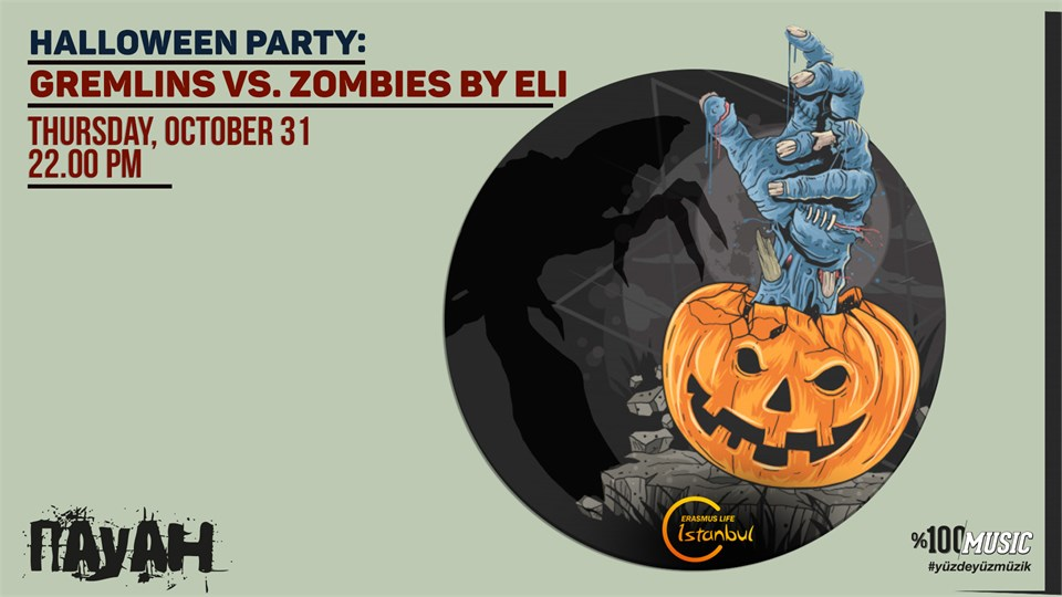 Halloween Party: Gremlins VS. Zombies by ELI