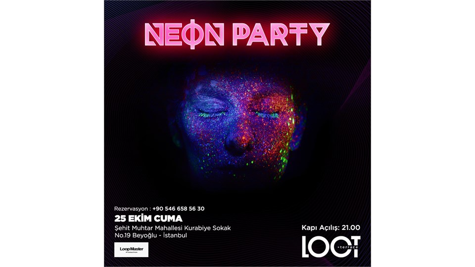 NEON PARTY  'Glow In The Dark'