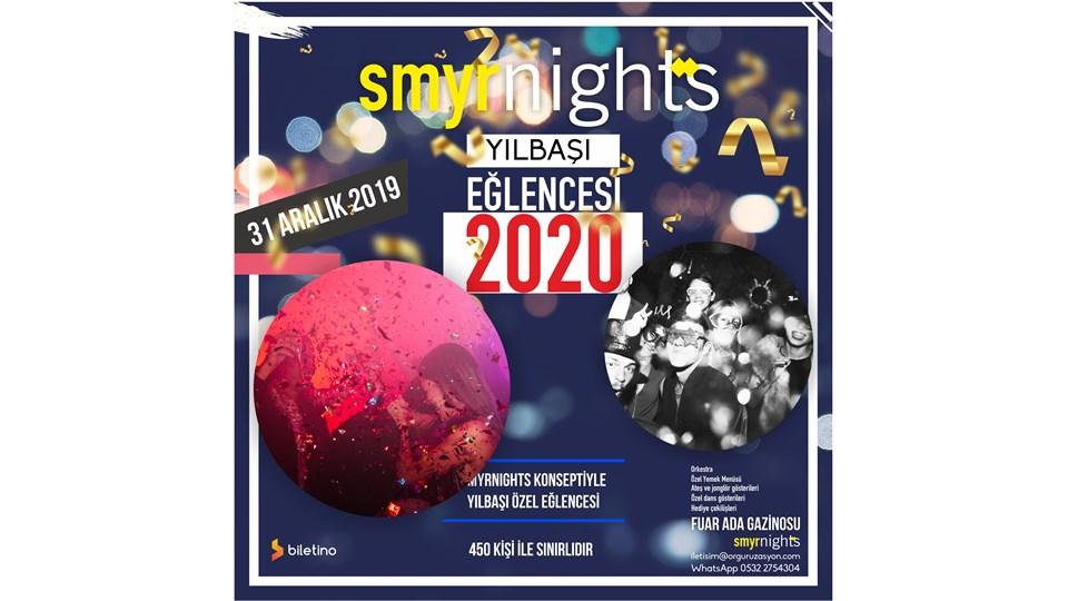 2020 Yılbaşı Eğlencesi, SmyrNights, Ada Gazinosu, 31 Aralık 2019