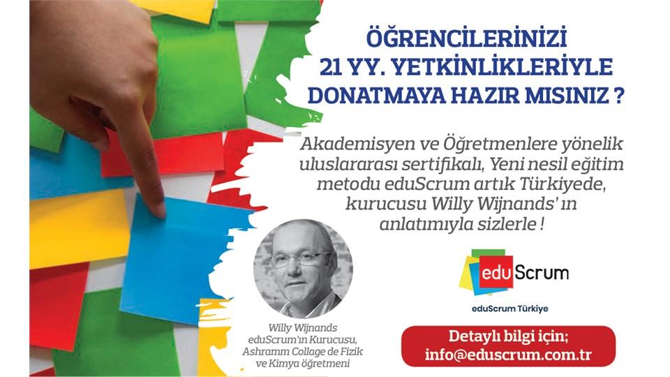 Eğitimciler için Sertifikalı eduScrum Eğitimi