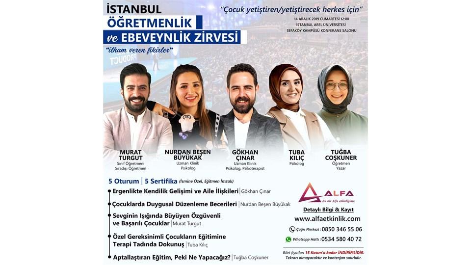 İSTANBUL ÖĞRETMENLİK ve EBEVEYNLİK ZİRVESİ / 14 ARALIK