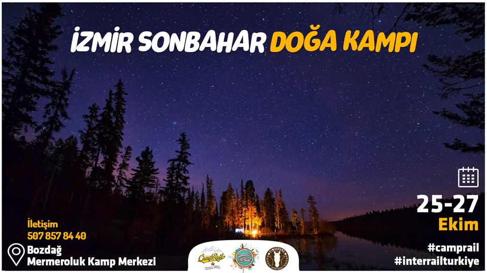 İzmir Sonbahar Doğa Kampı