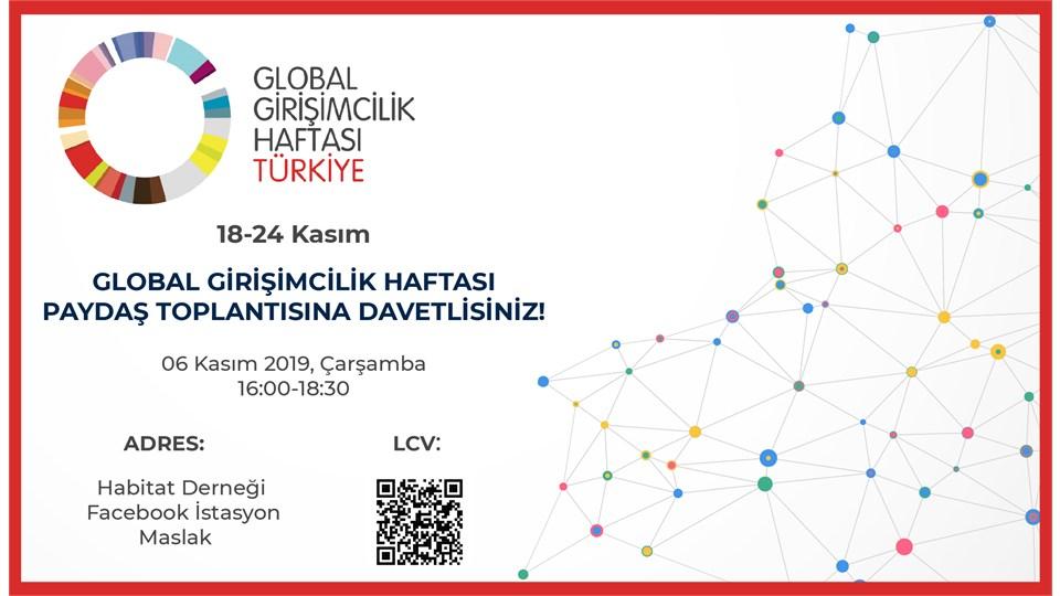 Global Girişimcilik Haftası Paydaş Toplantısı