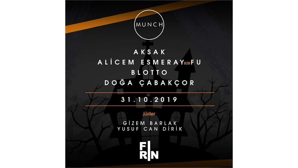 MUNCH HALLOWEEN PARTY // DOST LİST