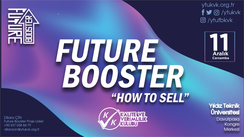 Future Booster ''How to Sell''