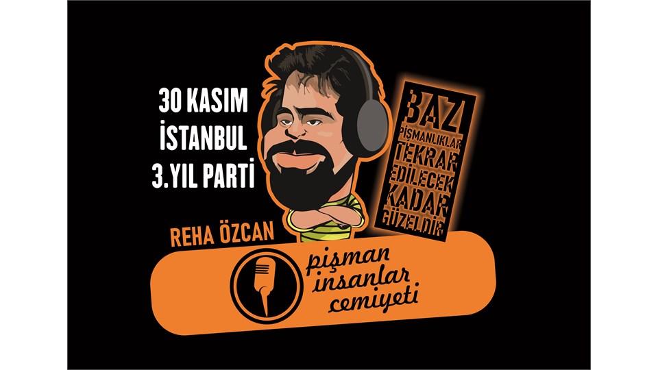 Pi Cemiyeti İstanbul | 3. YIL PARTİSİ