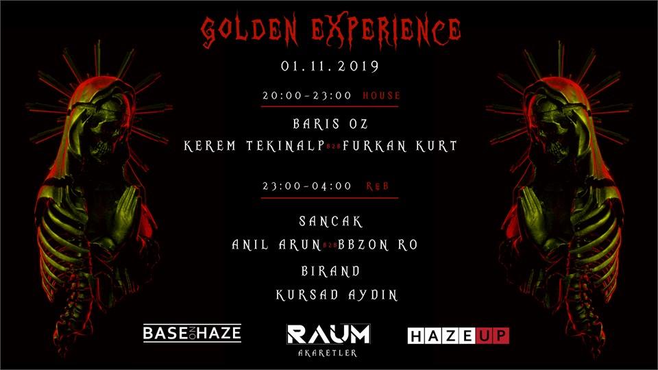 """Halloween """"Golden Experience"""""""