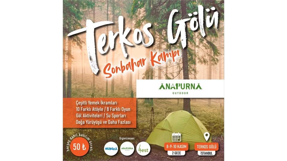 Terkos Gölü Sonbahar Kampı
