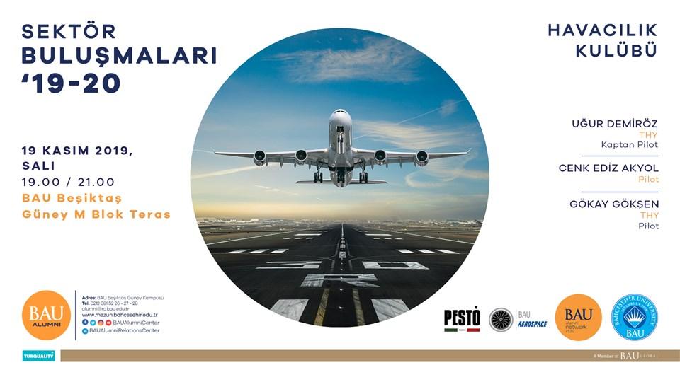 BAU Alumni Network Club-Havacılık Sektör Buluşması