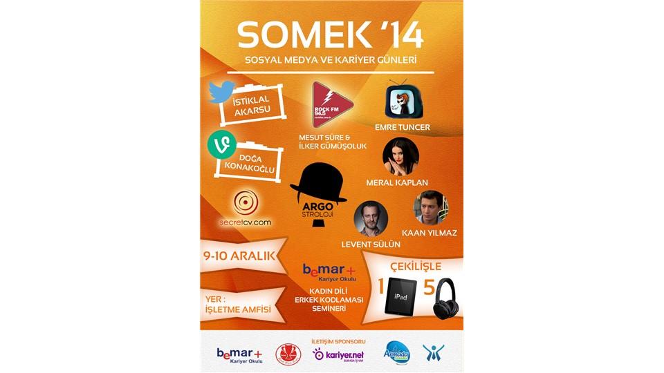 Sosyal Medya ve Kariyer Günleri SOMEK'14