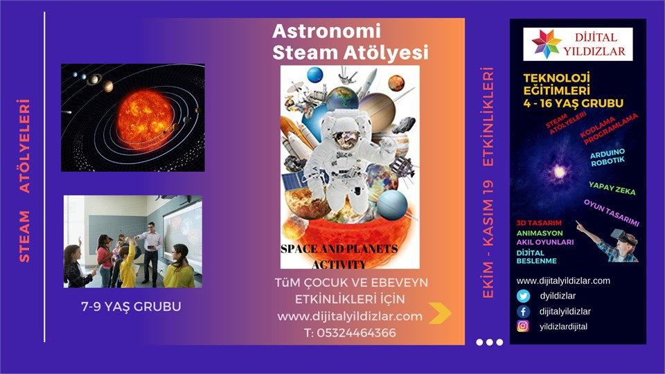 ASTRONOMİ STEAM ATÖLYESİ