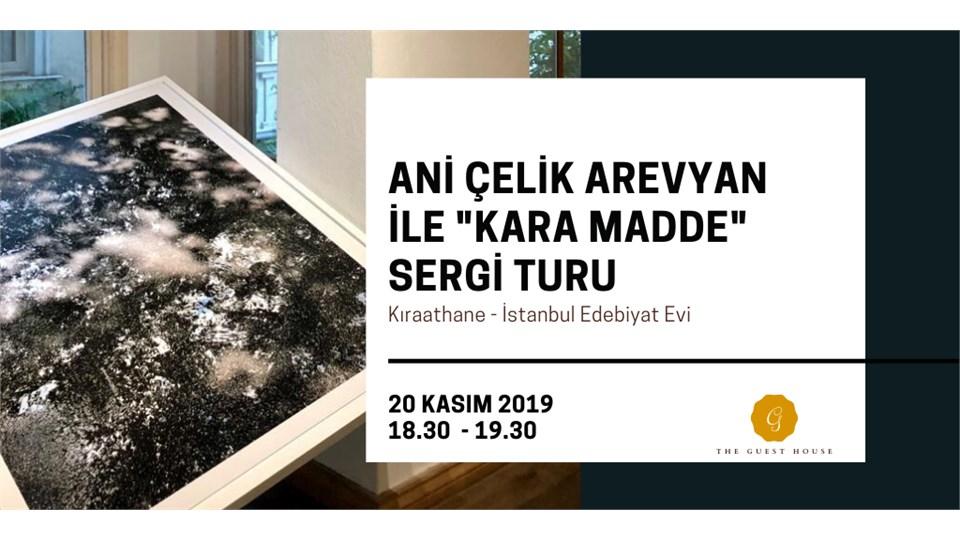 Sanatçı Ani Çelik Arevyan ile 'Kara Madde' Sergi Turu