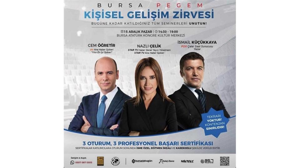 15 Aralık 2019 Bursa Kişisel Gelişim Zirvesi