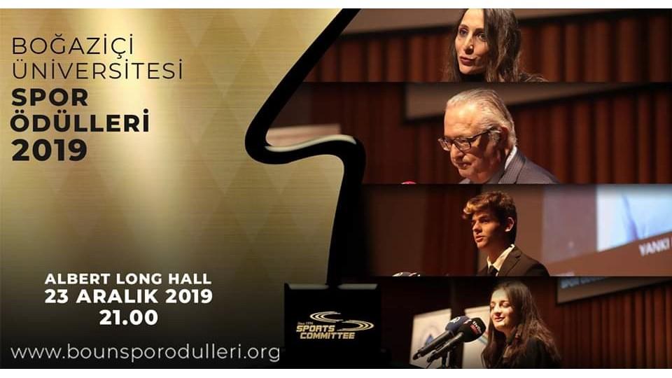 Boğaziçi Üniversitesi Spor Ödülleri 2019
