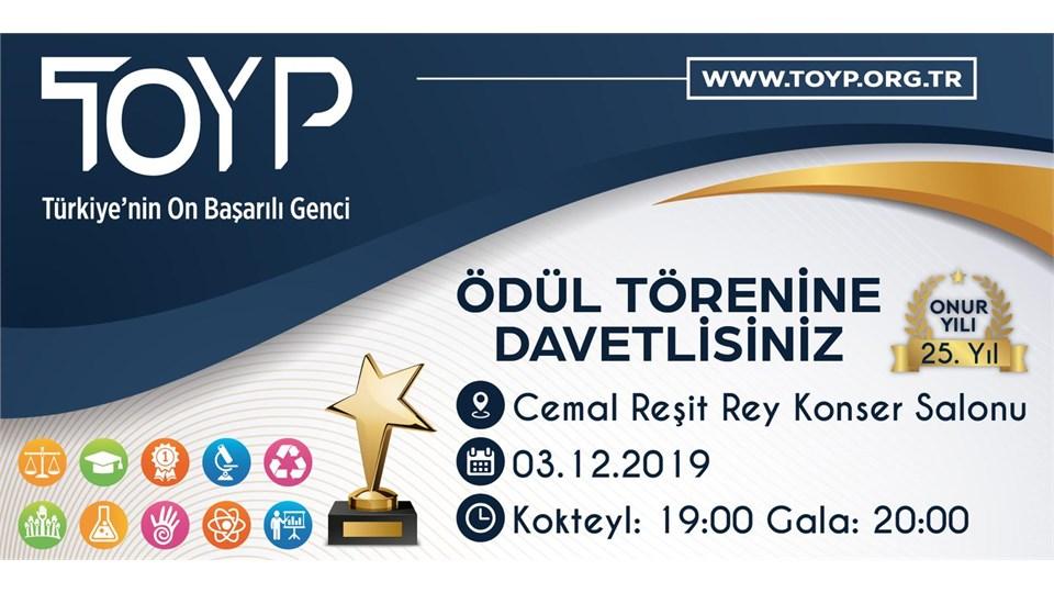 25. Yıl TOYP (Türkiye'nin 10 Başarılı Genci) Ödül Töreni