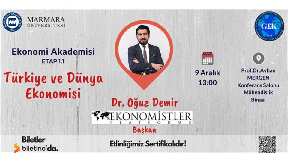 Ekonomi Akademisi Etap 1.1 [Türkiye ve Dünya Ekonomisi]