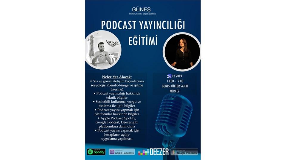 Podcast Yayıncılığı Eğitimi