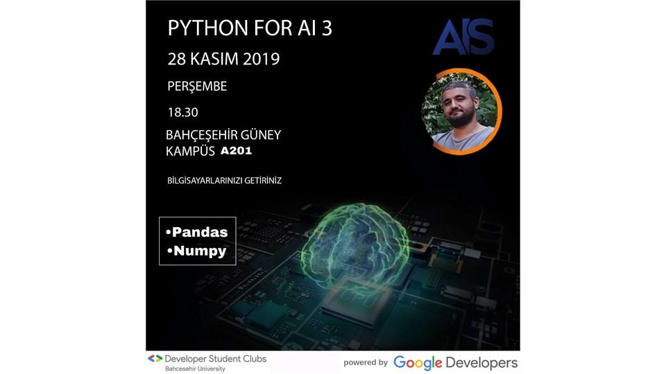 Python for AI III