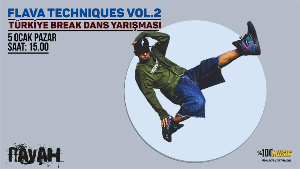 Flava Techniques Vol.2 / Türkiye Break Dans Yarışması